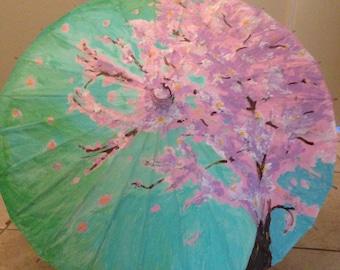 Cherry Bloosom Umbrella