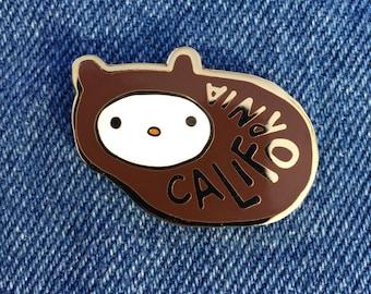 California Bear Enamel Pin