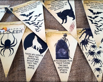 2.5m Halloween Bunting/Banner