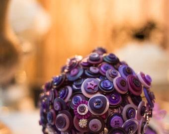 Button Wedding Bouquets