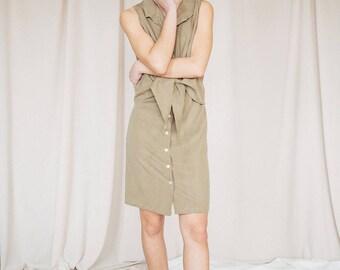 FIORELLA OLIVE DRESS