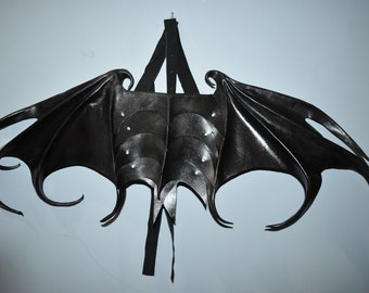 Large wearable dragon,  bat, vampire wings - black ones available now