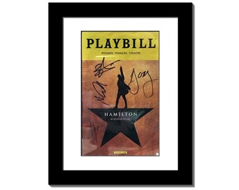Playbill Frame - 8.5 by 11-inch Frame Hold's Playbill Theatre Magazine perfectly, Playbill Display Storage w/ Matting, Stand and Wall Hanger