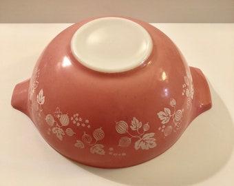 Large Pyrex Pink Gooseberry Bowl, 4 Quart 444 Cinderella Pink Pyrex Mixing Bowl, Vintage Pyrex, Colored Pyrex