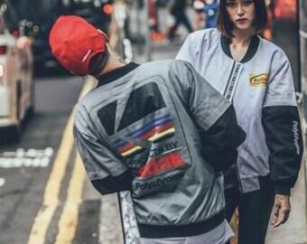 Vintage Kodak Bomber Jacket, Kodak Jacket, Streetwear Jacket, Bomber Jacket Women, Bomber Jacket Men, Kodak Clothing, Bomber Jacket Vintage