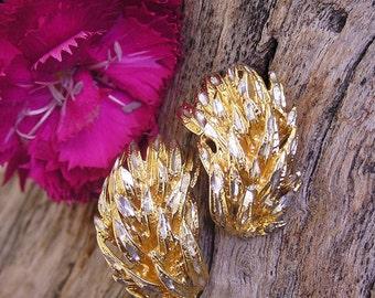Diamond Cut Sterlin Silver Earrings