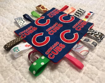 Chicago Cubs Baby Sensory Crinkle Toy