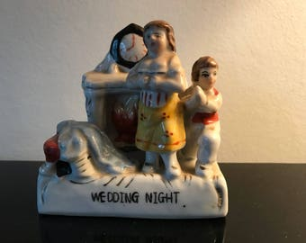 Wedding night Victorian fairing Conta & Boehme collectible antique