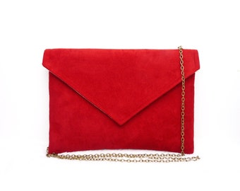 Red envelope clutch bag Wedding ceremony clutch Customizable color 38 colors