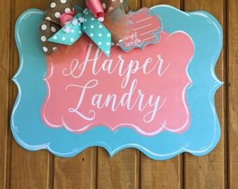 Curvy Shape Baby Door Hanger