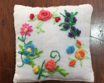MADE TO ORDER  - Dollhouse  pillow