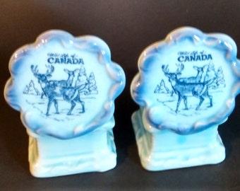 Souvenir Salt & Pepper Shaker/Canada