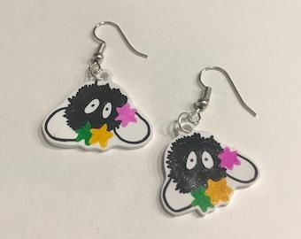 Sootball Spirit Earrings