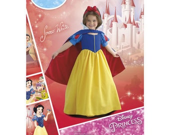 Sewing Pattern for Disney Snow White Costumes for Child - Girls, Simplicity Pattern 8487, Halloween Costume, Girls Snow White, New Pattern