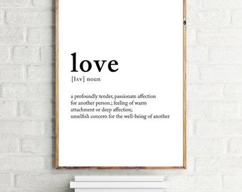 """Love definition 