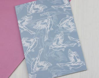 Wings A5 Lined Notebook