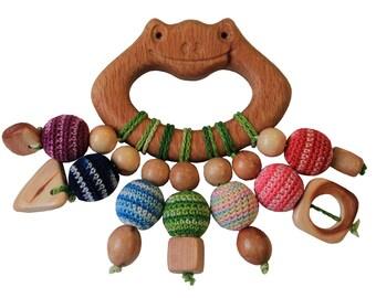 Teething toy rattle Ivanka &Handicraft for You