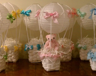 Hot Air Balloon Baby/Wedding/Shower/Graduation Centerpiece