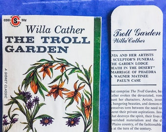 The Troll Garden   Snail Mail Postcard and Bookmark   Bookish, Bibliophile, Literary