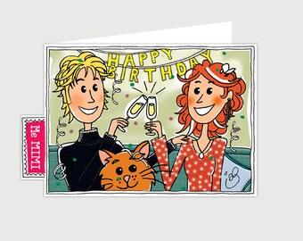 GREETING CARD ' HAPPY BIRTHDAY '