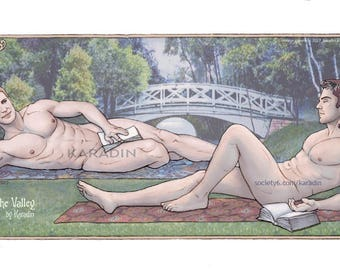 Steve and Bucky Lily of the Valley Bodypillow