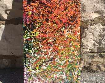 Original abstract painting, artwork, abstract expressionism, modern art, house art, condo art, famous artist, street art, mixed media,