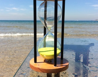 Giant , huge , large size Sand Timer Decorative 15 Minutes Sandstorm Hourglass Nautical Office Table Decir