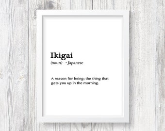 Japanese print etsy japanese print definition ikigai travel decor foreign life meaning love student stopboris Image collections