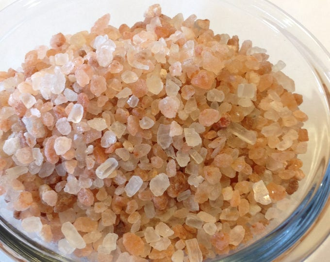 1 lb Large Coarse Pure Himalayan Pink Salt.  no soy no fillers no additives no sulfites