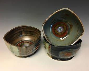 Medium Ceramic Squared Serving Bowl