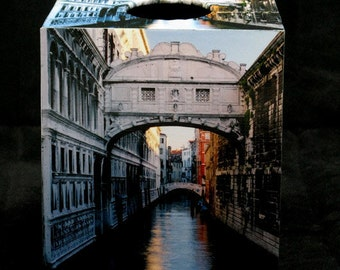 Home Décor Tissue Box Cover of Bridge of Sighs in Venice Italy