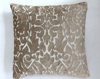 Gold cushion cover, Throw cushion cover, Scatter cushion cover, Throw pillow cover, Decorative pillow cover