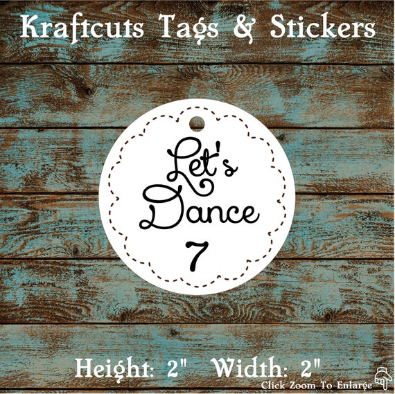 Wedding Flip Flop Tags - Flip Flop Size Tags #691 - Wedding Reception or Dance Party Qty: 30 Tags