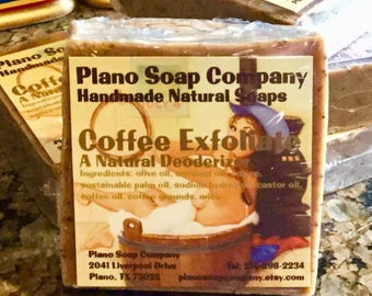 Wake Up and Smell the Coffee Natural Soap