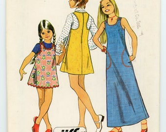 Vintage Simplicity Sewing Pattern - 5484 ca.1972 - UNCUT - FACTORY FOLDED