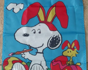 Peanuts Snoopy & Woodstock Holiday Happy Easter 14*18 in. Garden Flag