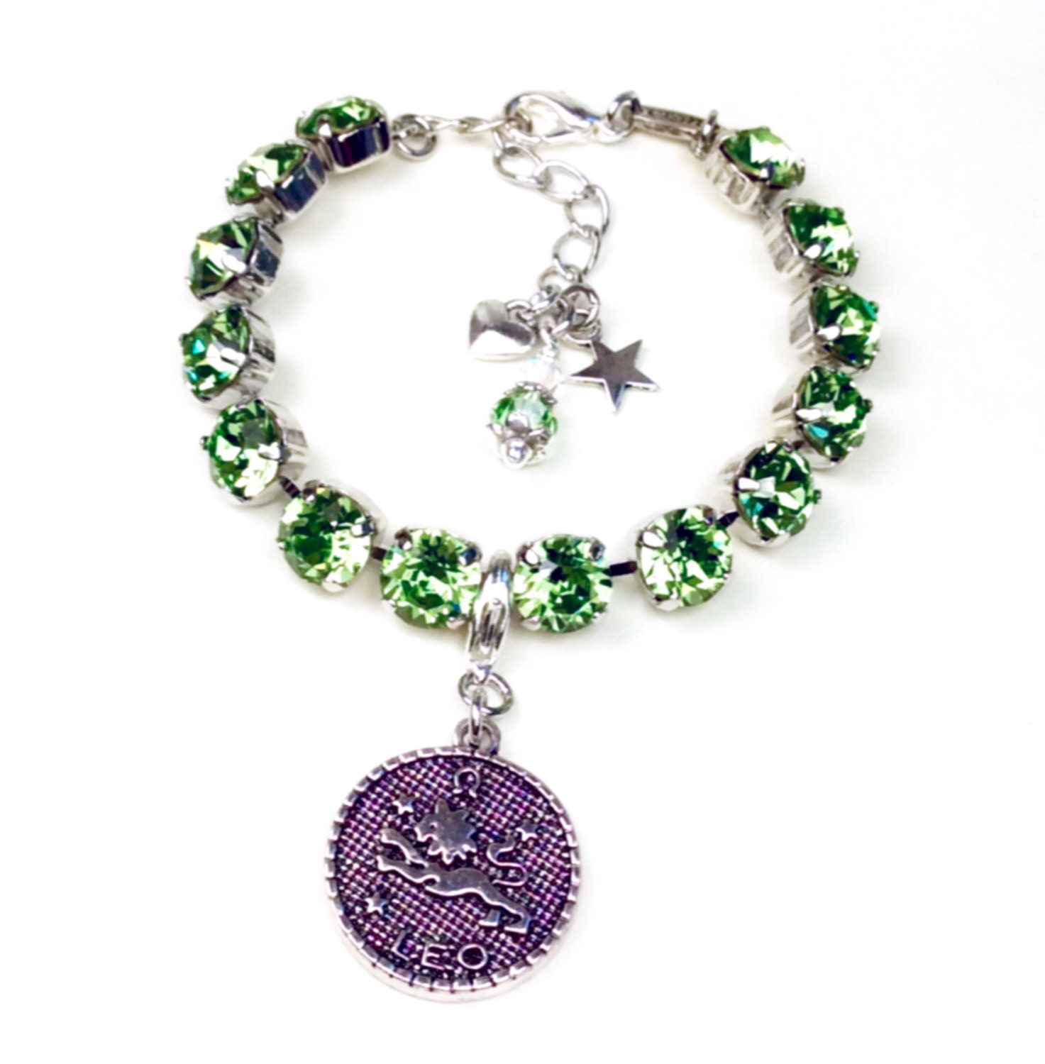az necklace sterling bling jewelry crystal color birthstone toe august pmr silver peridot ring