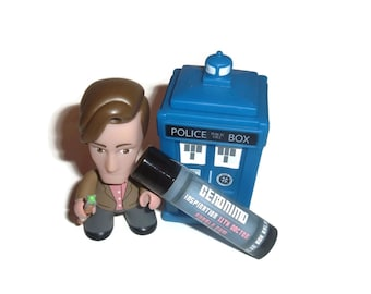 """The Eleventh Doctor """"Geronimo"""" Doctor Who Inspired Lip Balm - Bubble Gum Flavor Geek Stix"""