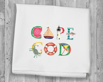 Flour Sack Towels for kitchen and bar - Cape Cod
