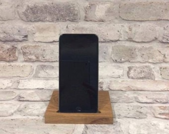 Solid Oak iPhone Stand