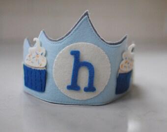 Cupcake Birthday Crown