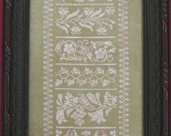 Victorian Silhouettes Sampler Chart