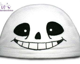 Video Game Characters - Undertale Sans - Fleece Hat - Super Cozy Beanie