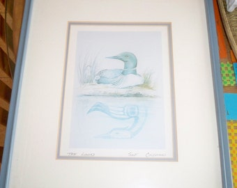 The Loom bird Print by Susan Coleman