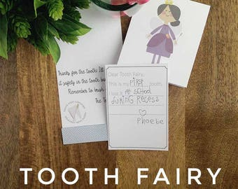 Tooth Fairy Letter Set - Darling Printables
