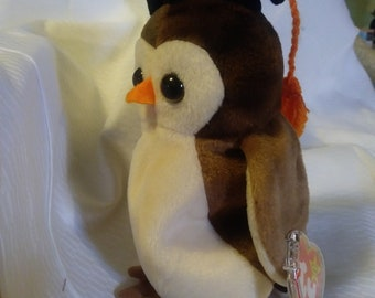 Wise the Owl 1998 Beanie Baby