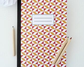 14x20cm Scandinavian patterned notebook