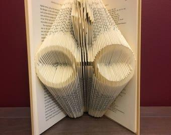 Harry Potter Glasses Folded Book