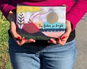 Small Accessory Pouch : The Future is Bright