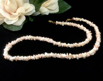 Vintage Manufactured Puka Shell Necklace